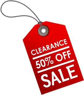 Clearance 50 Off Sale