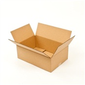 Pratt Recycled Long Shallow Corrugated Cardboard Box
