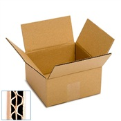 Pratt Recycled Small Double Wall Corrugated Cardboard Box