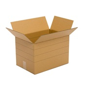 Pratt Recycled Medium Corrugated Cardboard Box