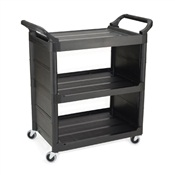 Rubbermaid Commercial Three-Shelf Service Cart