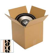 Pratt Recycled Medium/Small Double Wall Corrugated Cardboard Box