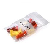 Pratt Poly Bags Reclosable w/White Block