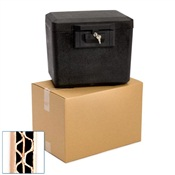 Pratt Recycled Medium Double Wall Corrugated Cardboard Box