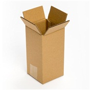 Pratt Recycled Corrugated Cardboard Tall Box