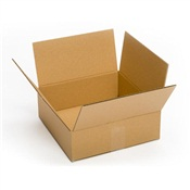Pratt Recycled Small Corrugated Cardboard Box