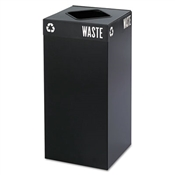 Safco® Public Square® Recycling Receptacles