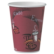 SOLO® Cup Company Paper Hot Drink Cups in Bistro® Design