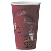 Dart® Paper Hot Drink Cups in Bistro® Design