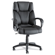 Alera® Fraze Executive High-Back Swivel/Tilt Leather Chair