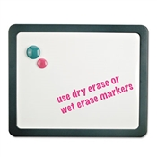 Universal ® Deluxe Recycled Cubicle Dry Erase Board