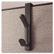 Universal® Deluxe Recycled Plastic Cubicle Coat Hook