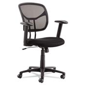 OIF Swivel/Tilt Mesh Task Chair with Adjustable Arms