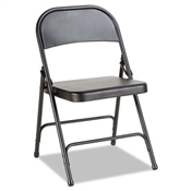 Alera® Steel Folding Chair with Two-Brace Support