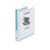 Avery ® Economy View Binder with Round Rings