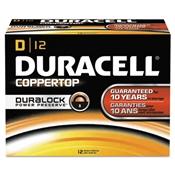 Duracell® CopperTop® Alkaline Batteries