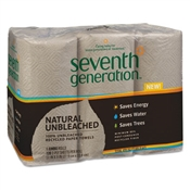 Seventh Generation ® Natural Unbleached 100% Recycled Paper Towels