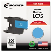 Innovera® LC75BK, LC75C, LC75M, LC75Y Ink