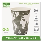 Eco-Products® World Art™ Hot Cups