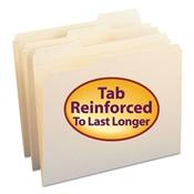Smead® Reinforced Tab Manila File Folder