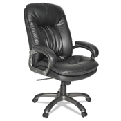OIF Executive Swivel/Tilt Leather High-Back Chair