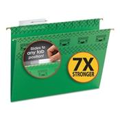 Smead® TUFF® Hanging Folders with Easy Slide™ Tab