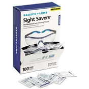Bausch & Lomb Sight Savers ® Premoistened Lens Cleaning Tissues