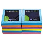 Universal ® Fan-Folded Self-Stick Pop-Up Note Pads