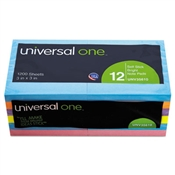 Universal ® Self-Stick Note Pads
