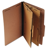 Universal ® Six-Section Classification Folder with Pockets