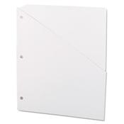 Universal ® Slash-Cut Pockets for Three-Ring Binders