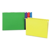 Universal® Deluxe Bright Color Hanging File Folders