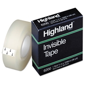 Highland ™ Invisible Permanent Mending Tape
