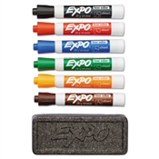 EXPO® Low-Odor Dry Erase Marker and Organizer Kit