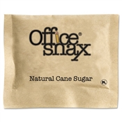 Office Snax ® Natural Cane Sugar