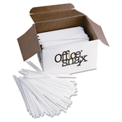 Office Snax ® Plastic Stir Sticks