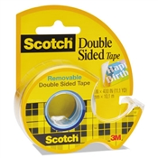 Scotch ® Double-Sided Removable Tape in Handheld Dispenser