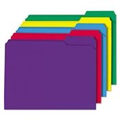 Universal® Deluxe Reinforced Top Tab File Folders