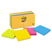 Post-it® Notes Super Sticky Pads in Rio de Janeiro Colors