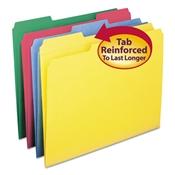 Smead® Reinforced Top Tab Colored File Folders
