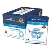 Hammermill ® Great White ® 30 Recycled Print Paper