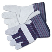 MCR™ Safety Men's Split Leather Palm Gloves