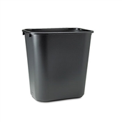 Rubbermaid ® Commercial Deskside Plastic Wastebasket