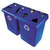 Rubbermaid® Commercial Glutton® Recycling Station
