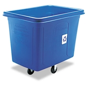 Rubbermaid® Commercial Recycling Cube Truck