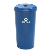 Safco® Tall Round Recycling Receptacle for Cans