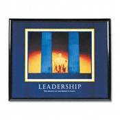 "Advantus® ""Leadership"" Framed Motivational Prints"