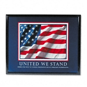 "Advantus® ""United We Stand"" Framed Motivational Prints"