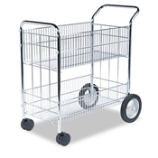 Fellowes® Wire Mail Cart
