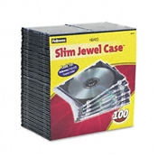 Fellowes® Thin Jewel Cases